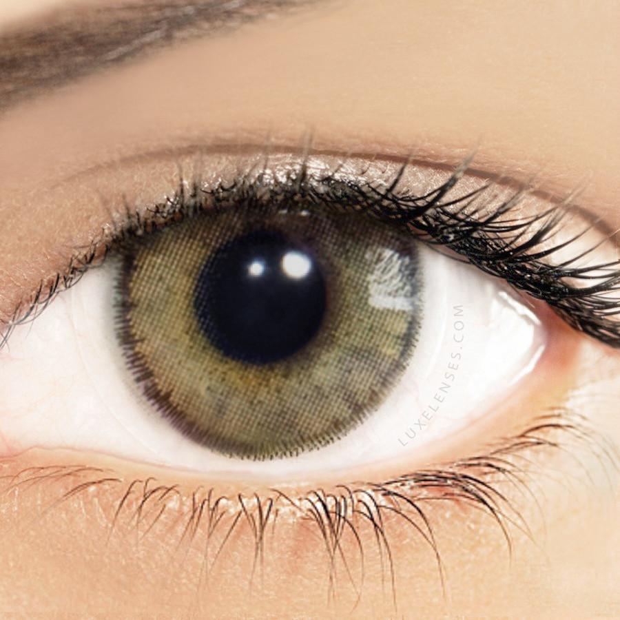 Solotica Natural Ocre Hazel Light Brown Contact Lenses