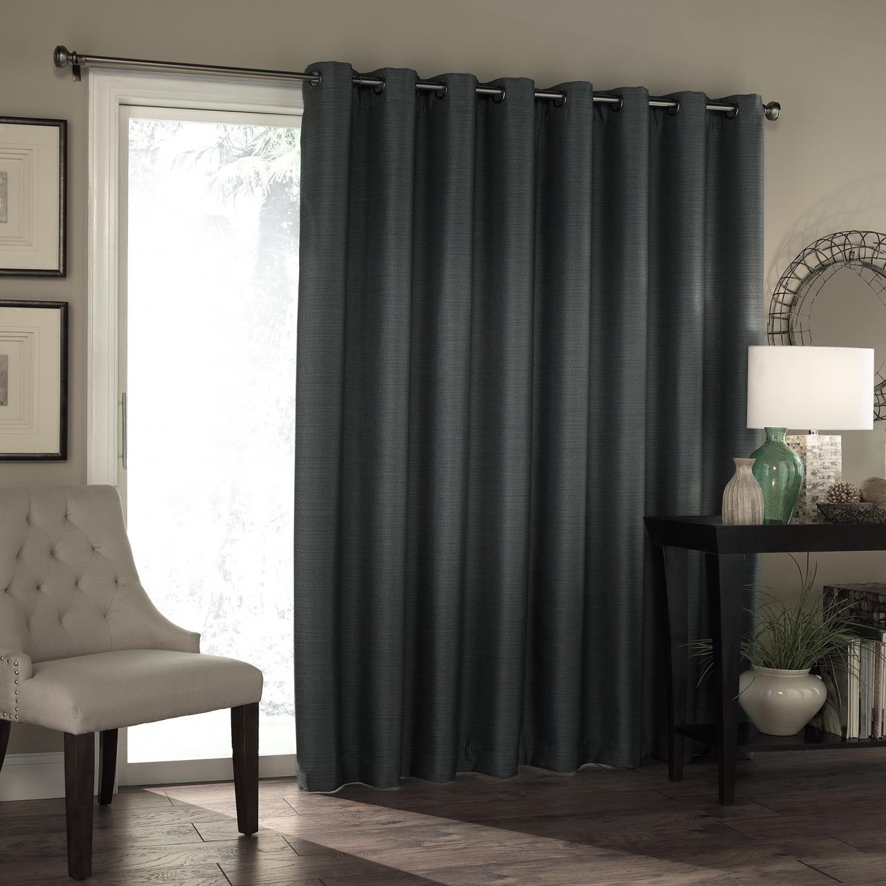 Bryson Thermal Blackout Patio Door Panel - 885308375599 - Eclipse Bryson Thermal Blackout Patio Door PanePaul's Home Fashions