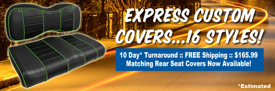 Express Covers with 10 Day Turnaround, Matching Rear Covers Now Available