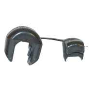"""AC Cord Strain Relief, All EZGO Golf Cart Chargers, 1/2"""" Dia."""