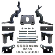 """3"""" Drop Spindle Golf Cart Lift Kit, Club Car DS 2003.5+ Gas & Electric"""