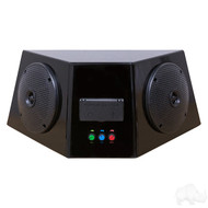 Universal Audio Center with Bluetooth Amp, Power Center and Speakers
