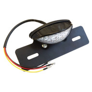 Golf Cart License Plate Holder with LED Plate Tag Running and Brake Light