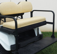 Golf Cart Flip Rear Seat with Thermoplastic Utilideck, Club Car DS