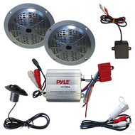 """Standard Golf Cart Bluetooth Audio Package with 5"""" Speakers (RAD-041)"""