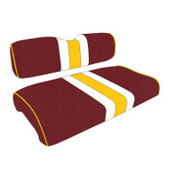 Washington Redskins Custom Helmet Stripe Golf Cart Seat Covers