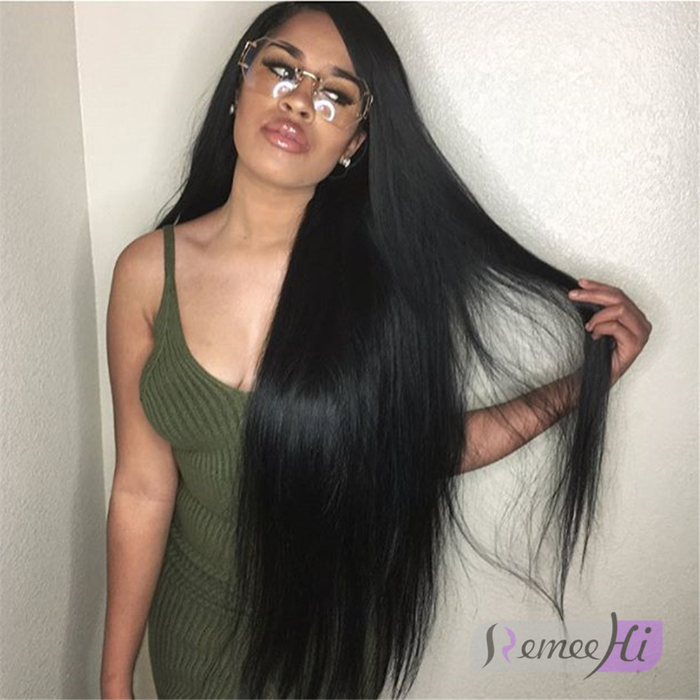Remeehi Straight Full Lace Wig With Baby