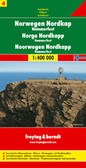 Norway North Cape Travel Map