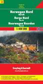 Norway North Travel Map