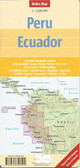 Peru Equador Map Travel Map