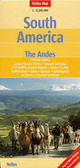 South America Andes Map Travel Map