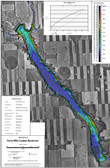 Forty Mile Reservoir Lake Map