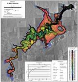 St Mary Reservoir Lake Map