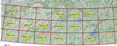 Mongolia NE 250k topographic maps