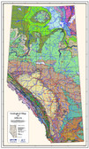 Geological GSC Alberta Map