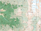 Nepal Topographic Map 1:50K
