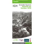 Battle of Verdun 1916 War Map