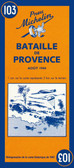 Battle of Provence Map
