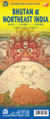Bhutan and NorthEast India Travel Map