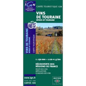 Wines of Touraine Travel Map