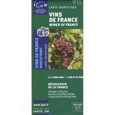 Wines of France Travel Map