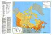 "Canada government Northwest Campaign 1885 Map 45"" x 31"" from the 1980's"