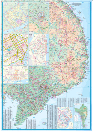 9781553412977	Vietnam Travel Reference Map	1:900,000