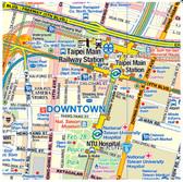9781553417224Taiwan & Taipei Travel Reference Map1:386,000