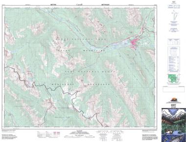 Topographic Maps Alberta AB Topo Maps GoTrekkerscom