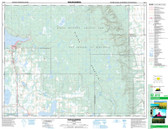 Manitoba Topographic Map