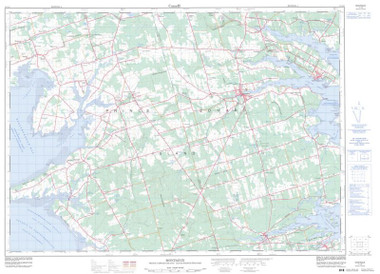 Prince Edward Island Topographic Map