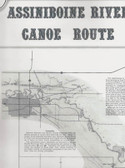 assiniboine valley historical canoe map