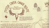 Mistik Creek Historical Canoe Map