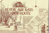 Riviere aux Rat Historical Canoe Map