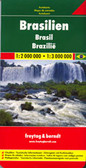 Brazil Travel Map