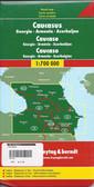 Caucasus Travel Map