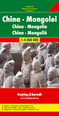 China Mongolia Travel Map