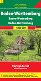 Baden Wurttemberg Travel Map