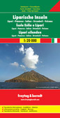 Aeolian Islands Travel Map