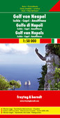 Bay of Naples Capri Travel Map