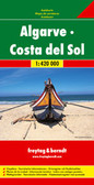 Algarve Costa Del Sol Travel Map
