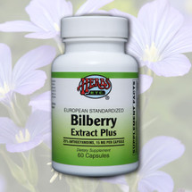 Bilberry Extract Plus  (European Standardized) Capsules 60 ct.