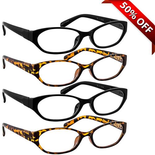 Reading Glasses Value 4 Pack