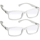 Webster Computer Reading Glasses 2 Pack White
