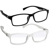Webster Computer Reading Glasses 2 Pack Black White