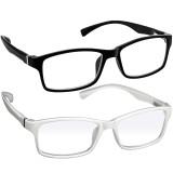 Webster Computer Reading Glasses 2 Pack Black White