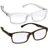 Webster Computer Reading Glasses 2 Pack White Tortoise
