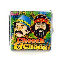 """Cheech & Chong Deluxe Cigarette Case - 85 mm """"Green"""""""