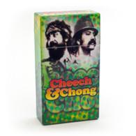 """Cheech & Chong Flip Top Cigarette Case - 100mm """"Reflections"""""""