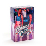"""Cheech & Chong Flip Top Cigarette Case - 85mm """"Truckin"""""""